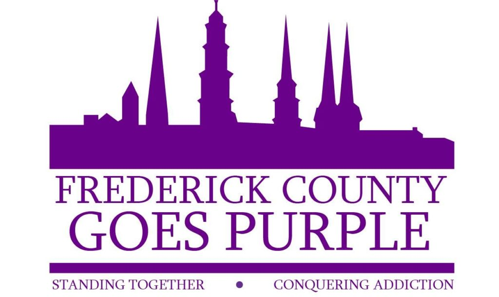 Frederick County Goes Purple Logo